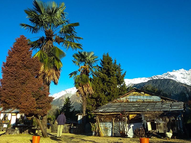 himalayan-sunrise-trekghorepanipoon-hill-ghandruk