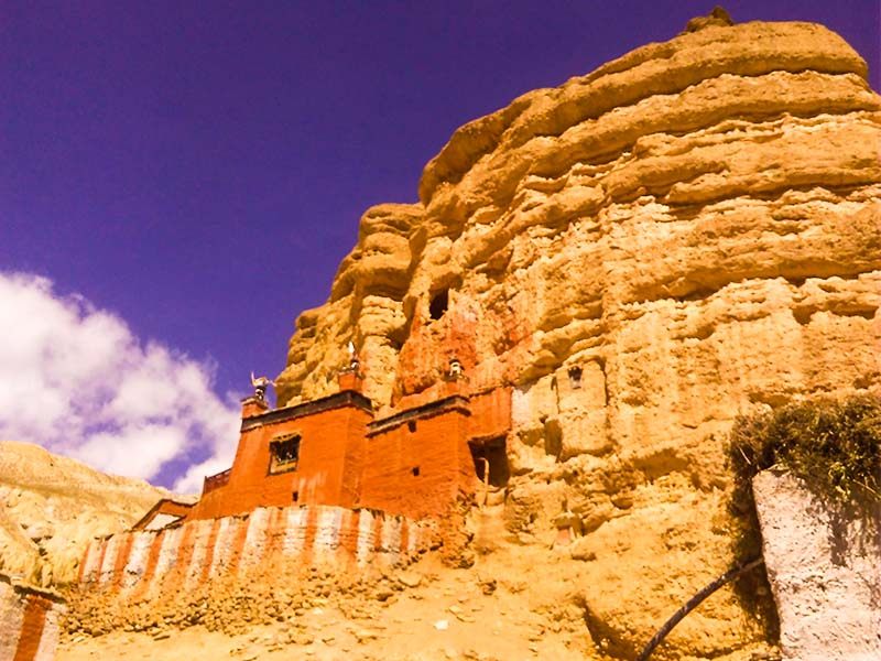 Upper Mustang  ( one way drive)