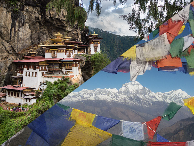 nepal bhutan trip for 10 to 15 days